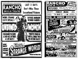 Exploitation Schlock at the Rancho, Circa 1953 and 1954
