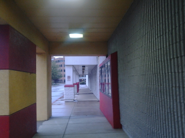 exterior of riverdale 10 overlooking nearby office depot