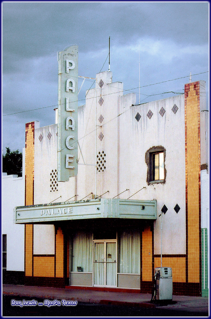 Palace Theater ... Marfa Texas