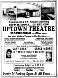 Uptown Grand Opening 1944