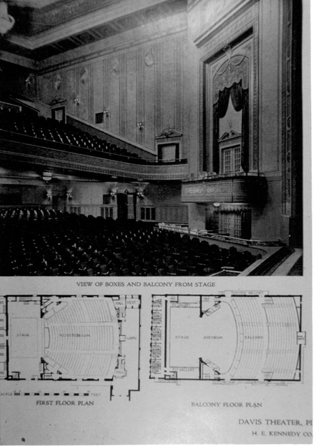 Davis Theatre interior-Pittsburgh, PA