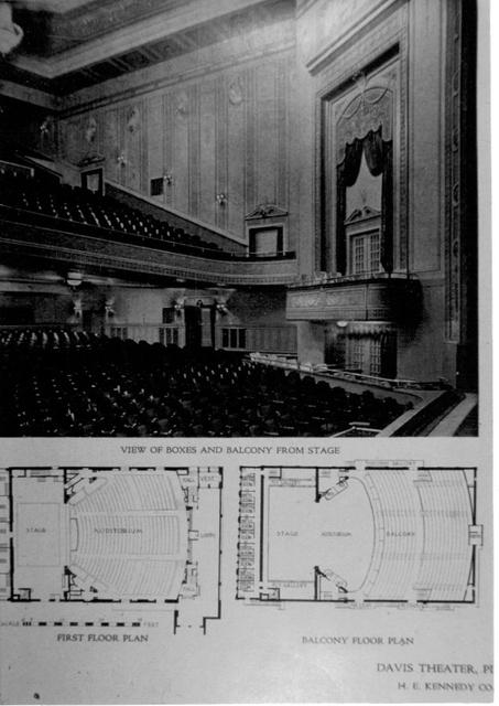 Davis Theatre interior-Pittsburgh, PA
