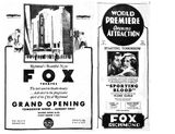 Reopening as the Fox 1931