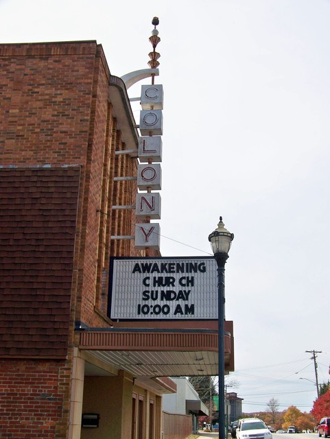 Colony Theater Marquee