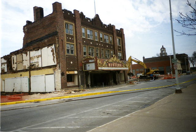 Muscatine (IA) United States  city images : Riviera Theatre in Muscatine, IA Cinema Treasures