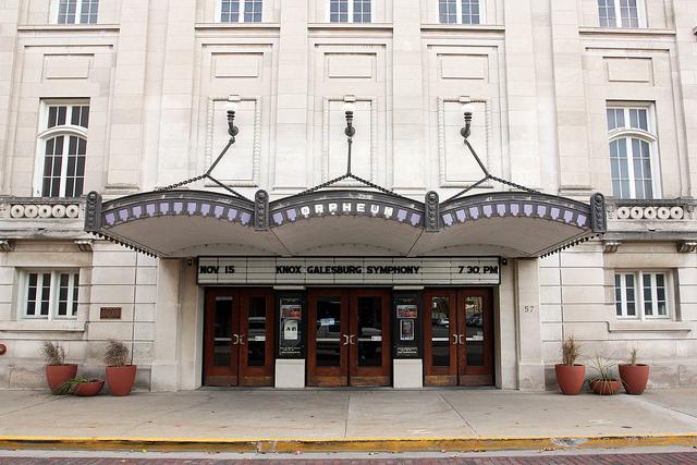 Orpheum Theatre, Galesburg, IL