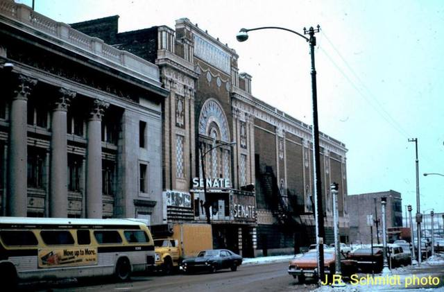 Senate Theatre, on Madison near Kedzie. 1976.