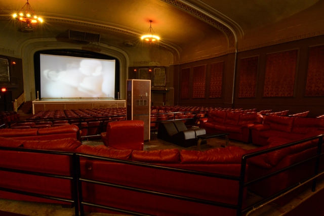 Westwood Theater - July 2014: Screen and Auditorium