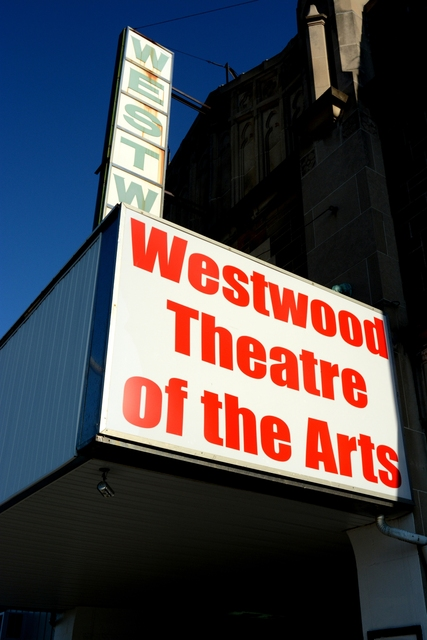 Marquee - Westwood Theatre of the Arts, Toledo 2014