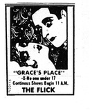 FLICK THEATRE AD
