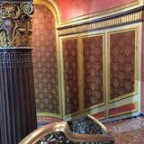 <p>The grand staircase from the lobby to the mezzanine at the Kings Theatre. Every inch has been restored.</p>