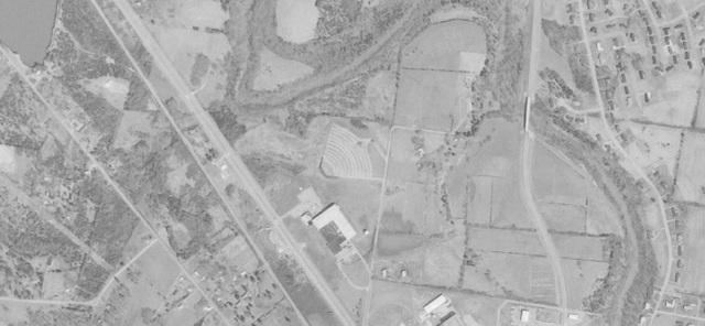 MarBro Drive-In aerial photo