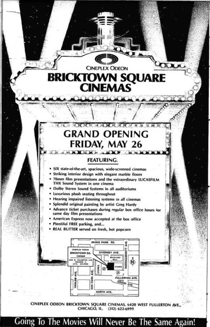 May 14th, 1989 grand opening ad