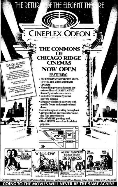 Chicago ridge movie theater