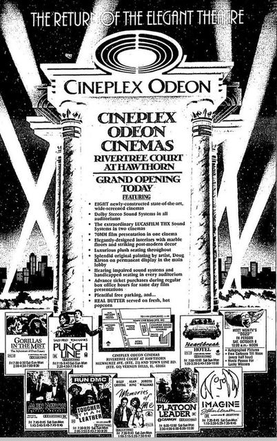 October 7th, 1988 grand opening ad