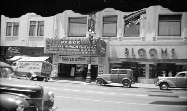 Fox Padre Theater circa 1941