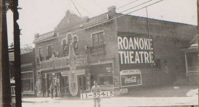 Roanoke Theater in Kansas City, Missouri.
