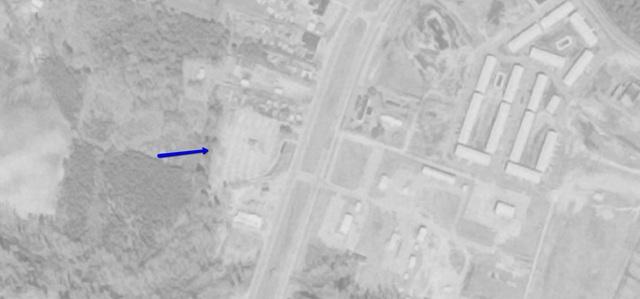 Aerial photo 1974, courtesy of USGS Earth Explorer