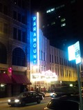 Paramount Theatre at Night