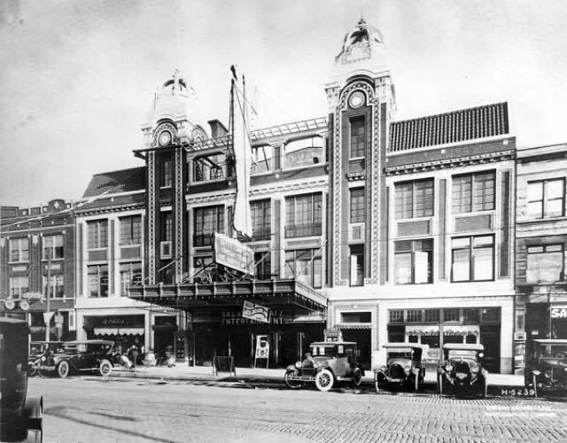 Central Park Theatre, date unknown, although taken likely right after it opened in 1917.