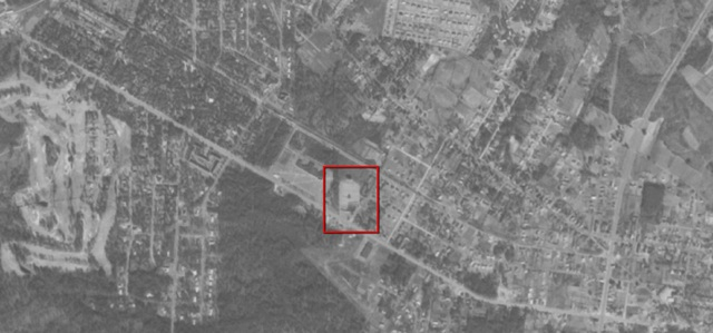 Aerial photo 1958, courtesy of USGS Earth Explorer