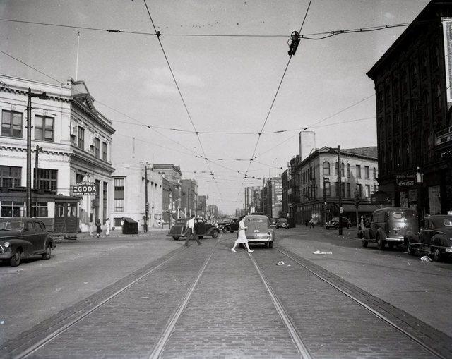 1941 photo courtesy of Brandon Sanks.