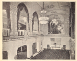 Foyer of the Capitol Theatre, Hazleton, PA