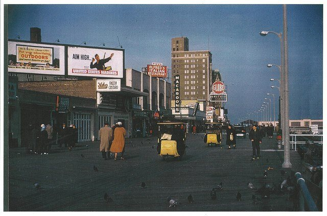 1956 photo courtesy of Dennis Linsky.