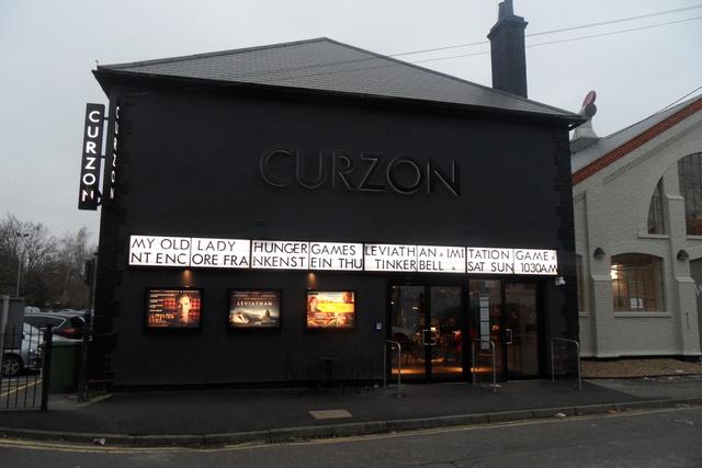 Curzon Cinema Soho London - movie ticket with the London Pass