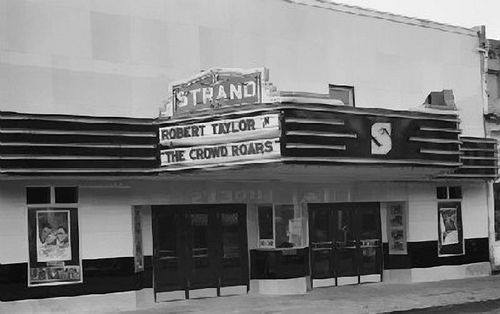 Strand Theatre-downtown Tuscola, Illinois