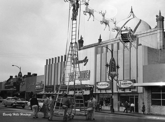 Circa 1963 photo courtesy of Beverly Hills Heritage.