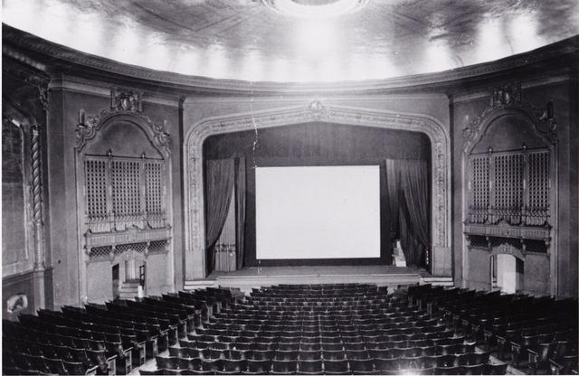 Original look of the auditorium