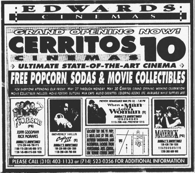 Cerritos Harkins Theater Cine 1 Room: Cerritos Stadium 10 In Cerritos, CA