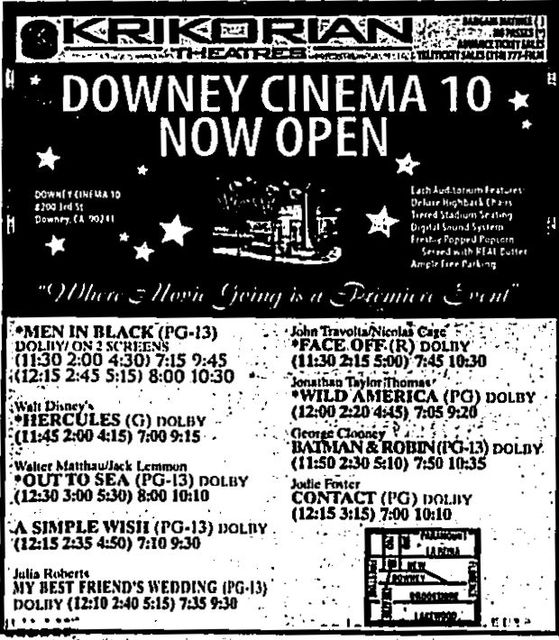 July 11th, 1997 grand opening ad
