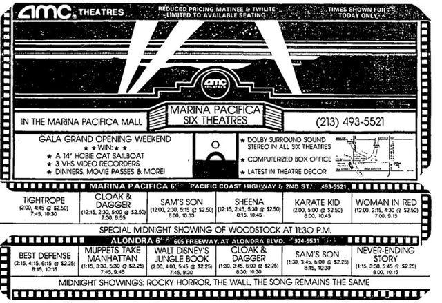 Marina Pacifica Theatre Long Beach Ca
