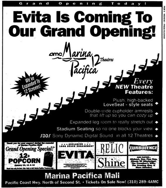 January 10th, 1997 grand opening ad