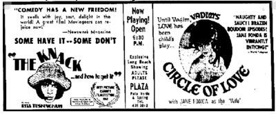 February 15th, 1966 grand opening ad
