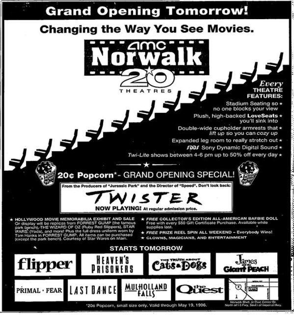 May 16th, 1996 grand opening ad