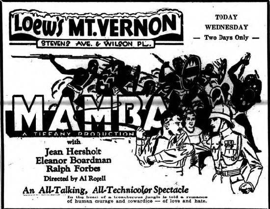 Loew's Mt. Vernon Theatre