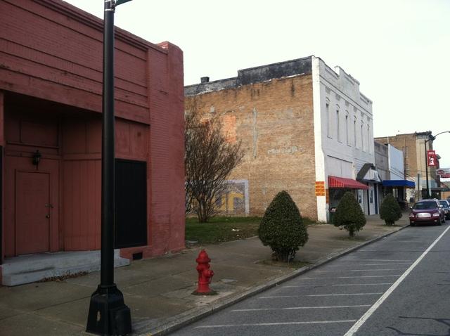Where the Dixie stood