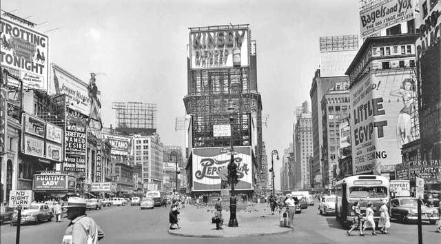 1951 photo courtesy of Al Ponte's Time Machine - New York Facebook page.