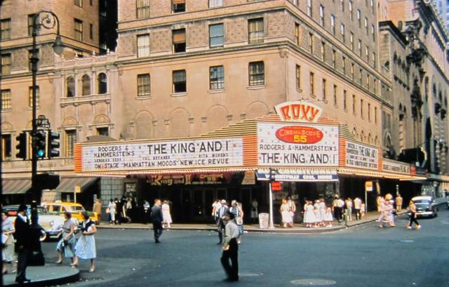 1956 photo courtesy of Al Ponte's Time Machine - New York Facebook page.