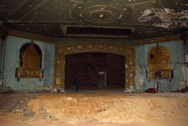 Proscenium and Organ Lofts, Ritz Theatre Carteret NJ 12-17-14