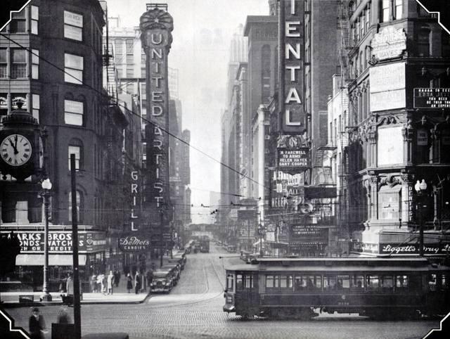 1933 photo courtesy of CTA archives via Mike Tuggle.