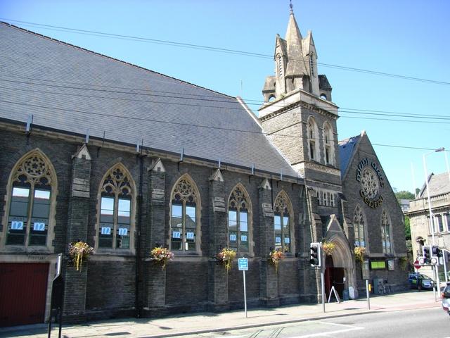 Ponypridd Muni Arts Centre in August 2007