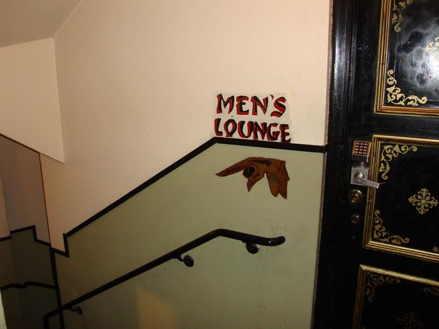 Mens Lounge Entrance