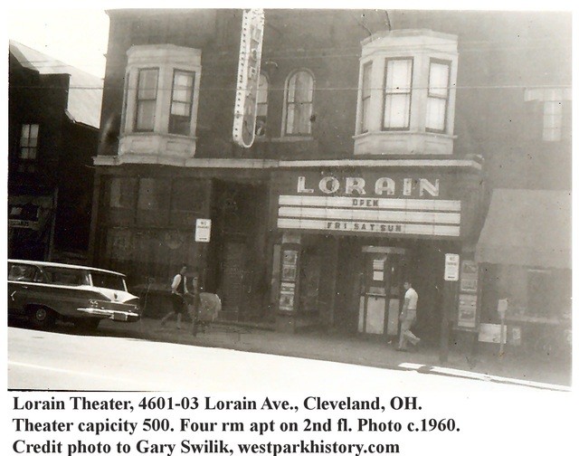 Lorain Theatre 1960