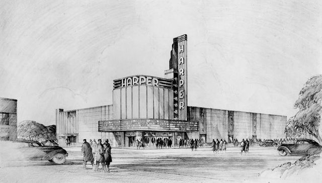 1939 artist's rendering courtesy of John Romanowski.