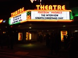 <p>Plaza first theatre in the nation to announce there playing Tge Interview !</p>