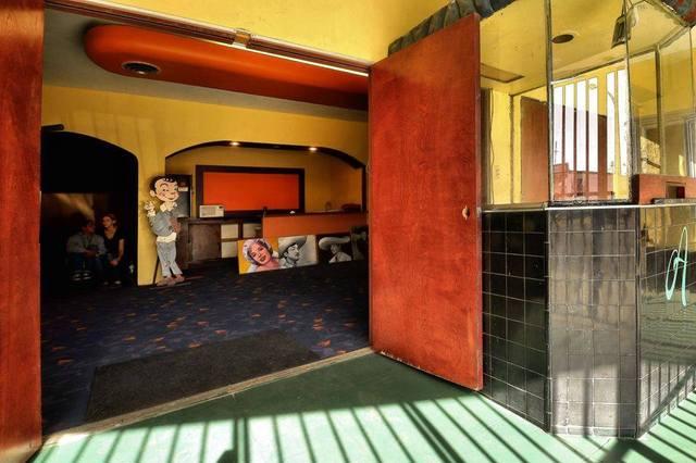 Azteca Theater entry